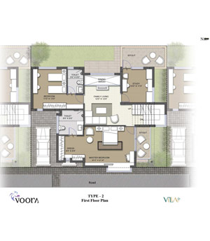 voora floor plan type1