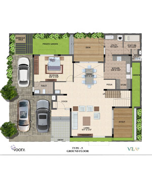 voora floor plan type5