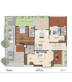 voora floor plan type6